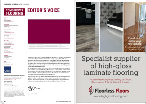 Tomorrows Flooring Ad