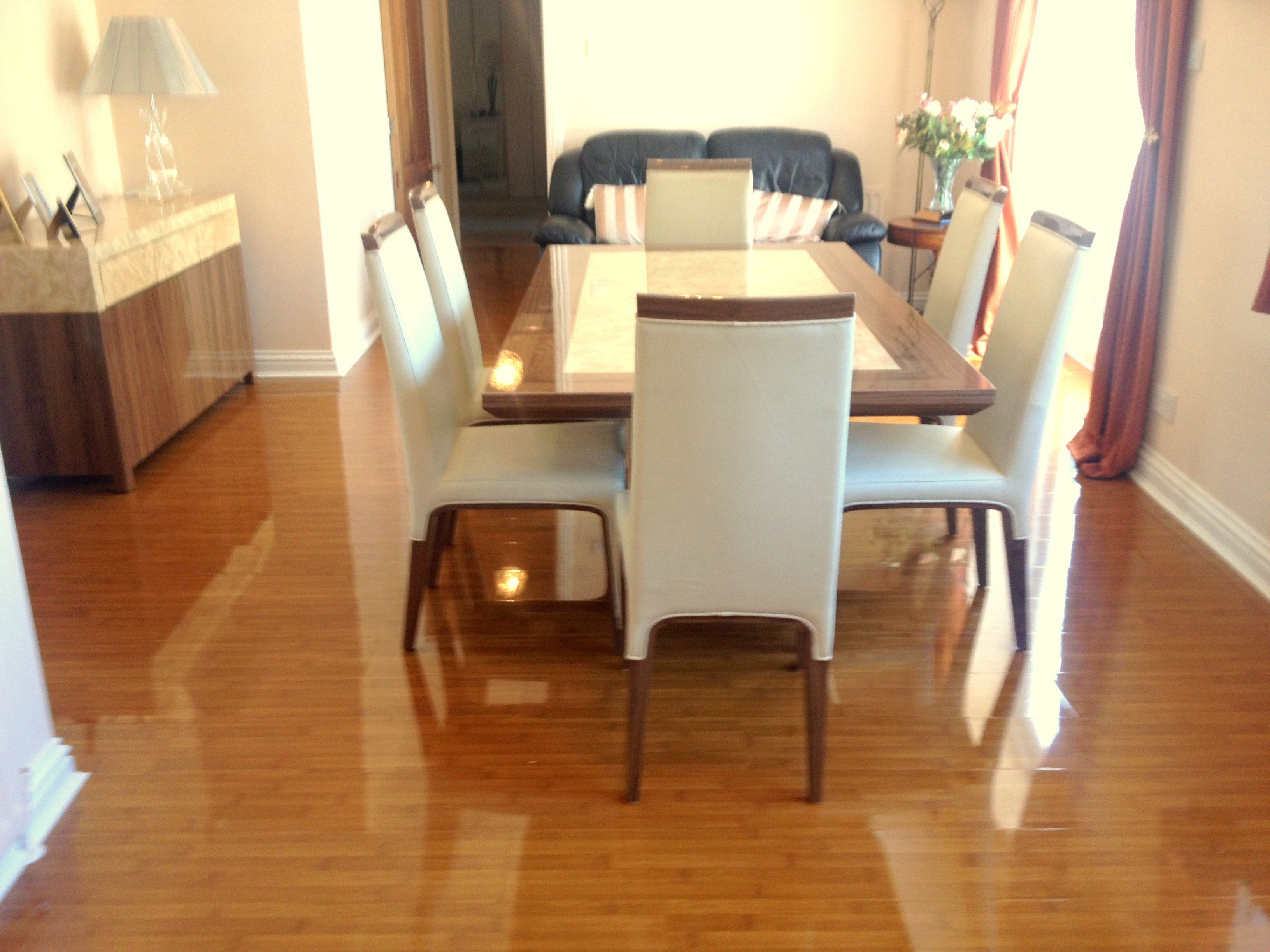Bamboo High Gloss Flooring Floorless Floors