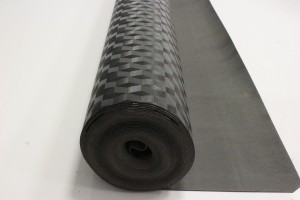 1.5mm high-density underlay made for laminate and hardwood flooring