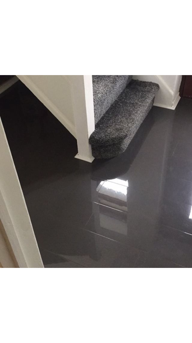 Graphite High Gloss Flooring Floorless Floors