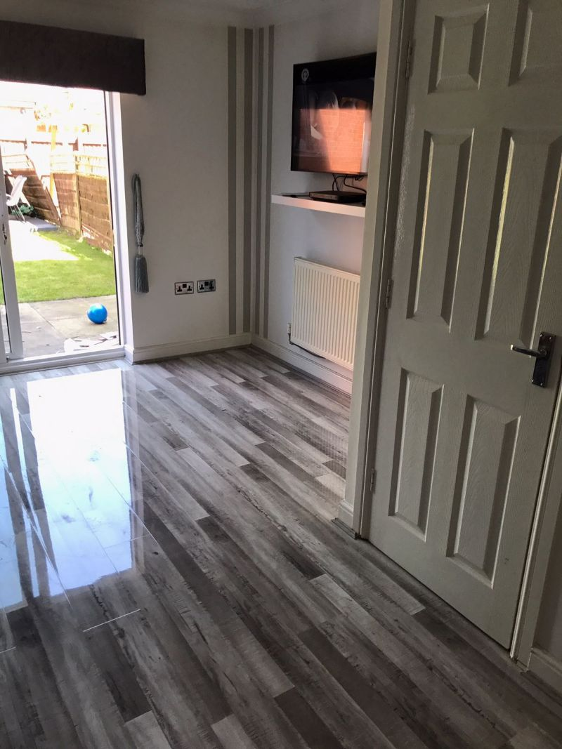 Grey Wood Laminate Flooring